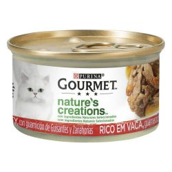 PURINA®GOURMET®Mini Filetes rico en buey 85g