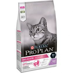 Ver PURINA® PRO PLAN® Gato Delicate  OPTIDIGEST Pavo 1,5kg