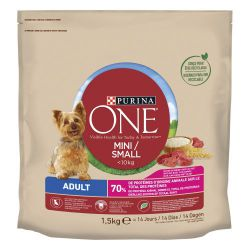 Ver PURINA®  ONE®  Perro Adulto Buey y Arroz 1,5kg