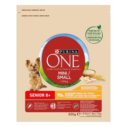 PURINA®  ONE®  Perro Senior  8+ Pollo y Arroz 1,5kg