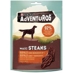 Ver ADVENTUROS Maxi Steaks Bufalo 70g