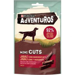 Ver ADVENTUROS Mini Cuts Jabalí 70g
