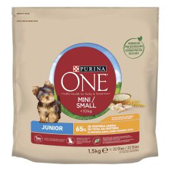 PURINA®  ONE®  Perro Junior Pollo  y Arroz 1,5g